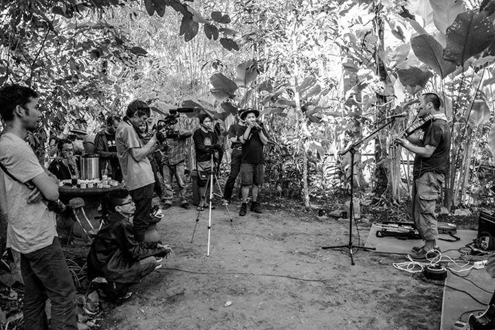 Kombo session vol.8 at Wangi Artroom, Yogyakarta, Indonesia on Aug 18, 2015