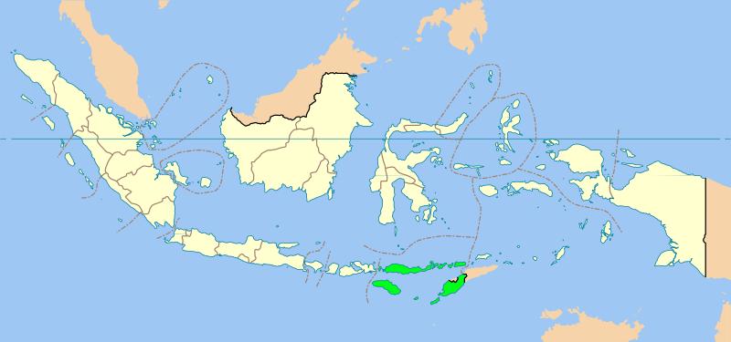 インドネシアのNTT 東ヌサ・トゥンガラ州